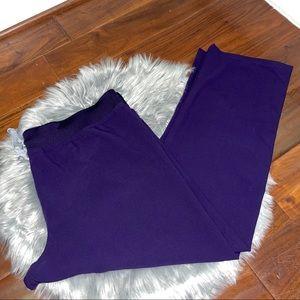 Figs Livingston Scrub Livingston Pants Purple 2XL